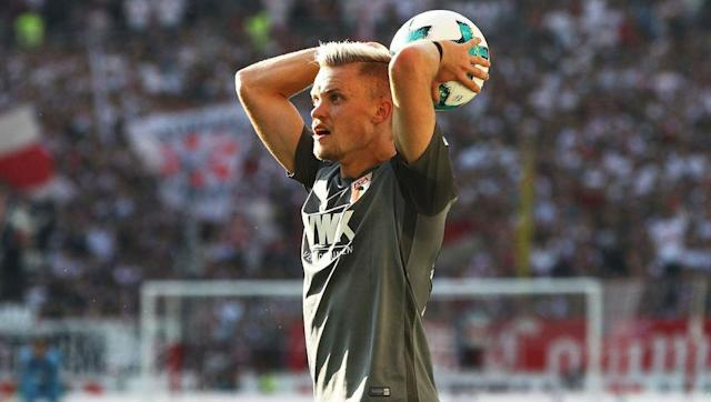"<p>Despite playing at left-back, FC Augsburg's Philipp Max is the sole representative from the <a href=""http://www.90min.com/leagues/bundesliga?view_source=incontent_links&view_medium=incontent"" rel=""nofollow noopener"" target=""_blank"" data-ylk=""slk:Bundesliga"" class=""link rapid-noclick-resp"">Bundesliga</a> after a strong to his season. </p> <br><p>The 24-year-old has registered <strong>nine assists </strong>this campaign as the Bavarian side sit 9th in the table.</p> <br><p>Max has garnered a reputation with his consistent delivery from the left, whether it is in live play or from set-pieces, even seeing him linked with <a href=""http://www.90min.com/posts/5889536-ausburg-s-promising-left-back-philipp-max-tracked-by-some-of-the-premier-league-s-biggest-clubs"" rel=""nofollow noopener"" target=""_blank"" data-ylk=""slk:a potential move to the Premier League."" class=""link rapid-noclick-resp"">a potential move to the Premier League.</a> </p> <br><p>With a World Cup looming, Max has an outside chance of playing his way into Joachim Low's plans for the summer, especially if he continues to provide the number of assists like he has been doing. </p>"