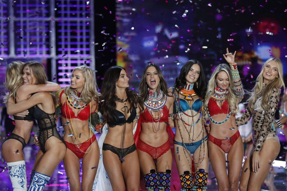 """<span class=""""caption"""">The Victoria's Secret we've become accustomed to is no more. The brand has finally realized that diversity sells.</span> <span class=""""attribution""""><span class=""""source"""">(AP Photo/Andy Wong) </span></span>"""