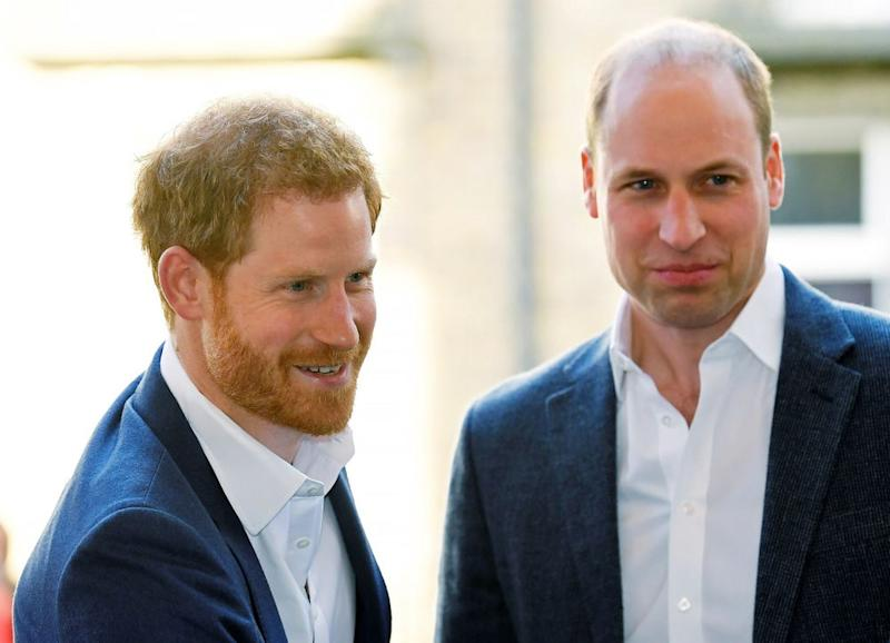 Prince Harry and Prince William | TOBY MELVILLE/AFP/Getty