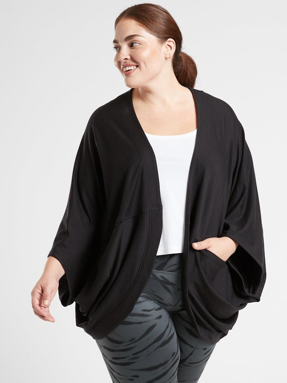 <p>This <span>Athleta Cocoon Wrap</span> ($89) is the perfect cuddly gift for someone you love.</p>
