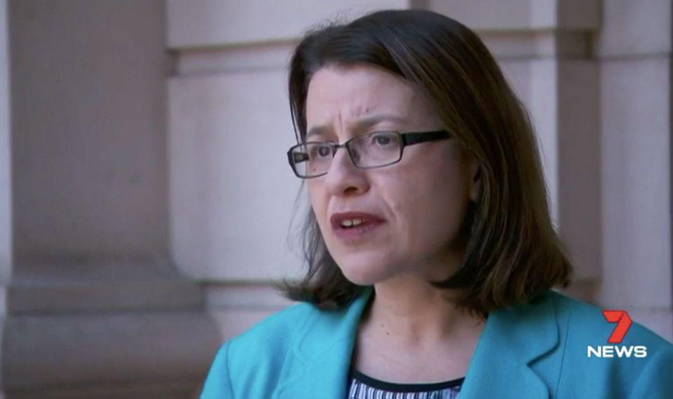 Jenny Mikakos said not vaccinating children made it harder to place them in care. Source: 7 News