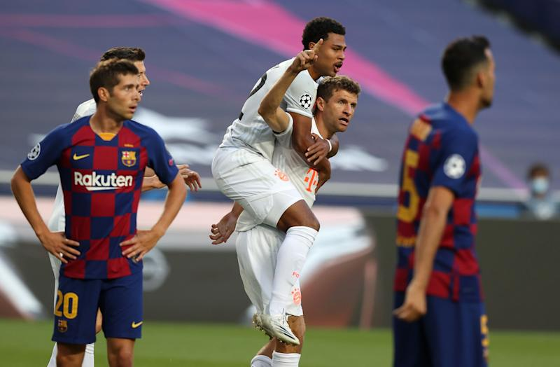 Muller makes Barcelona suffer once more after breaking German Champions League record