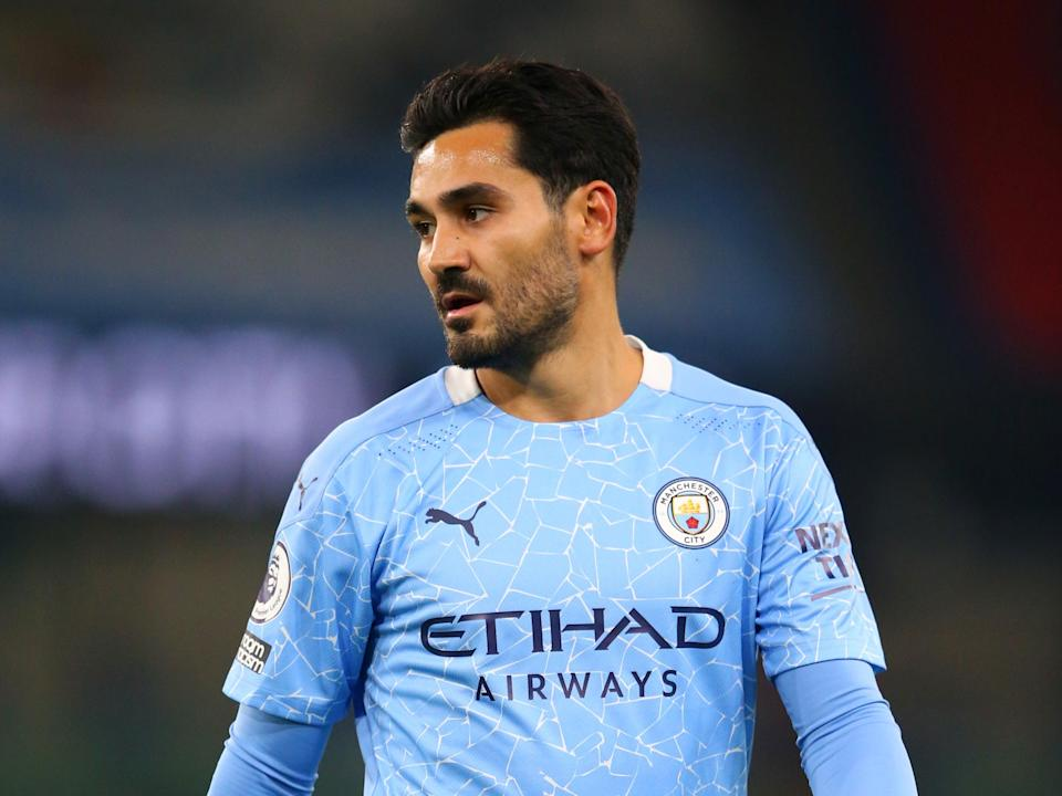 Manchester City midfielder Ilkay Gundogan (Getty Images)