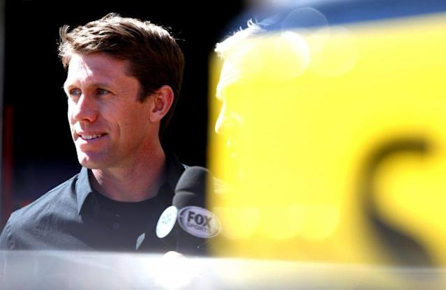 "<a class=""link rapid-noclick-resp"" href=""/nascar/sprint/drivers/711/"" data-ylk=""slk:Carl Edwards"">Carl Edwards</a> has been close to winning two Cup Series titles. (Getty Images)"