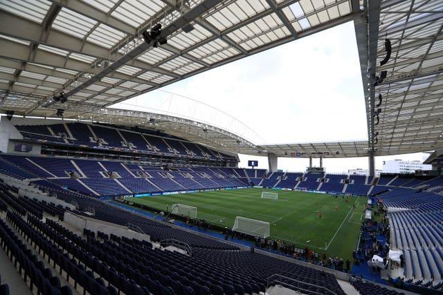 The Estadio do Dragao in Porto is now hosting the final