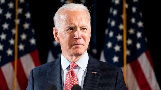 PHOTO: Joe Biden speaks about the Coronavirus and the response to it at the Hotel Du Pont in Wilmington, Del., March 12, 2020. (Michael Brochstein/Echoes Wire/Barcroft Media via Getty Images, FILE)