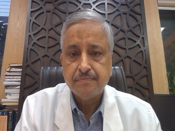 All India Institutes of Medical Sciences Delhi Director Dr Randeep Guleria. (Photo/ANI)
