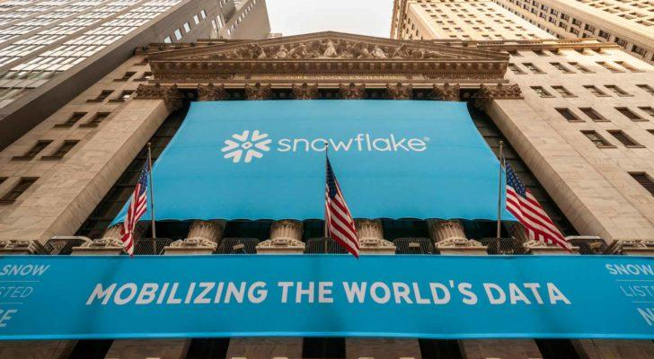Snowflake IPO on the NYSE