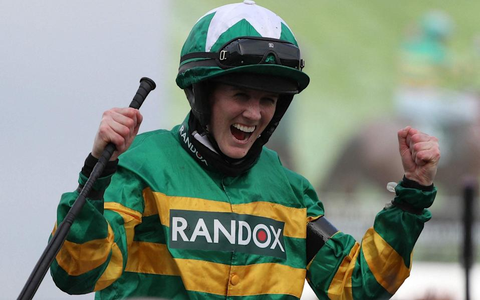Grand National 2021: Rachael Blackmore makes history on Minella Times - live reaction - AFP