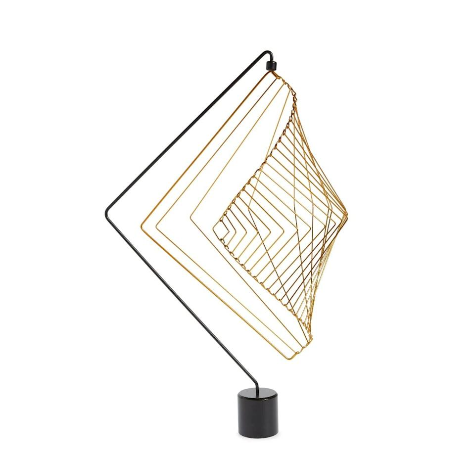 <p>Want to give your bookshelf or desk a stylish edge? This <span>Square Wave Kinetic Mobile</span> ($99) is basically visual ASMR. </p>
