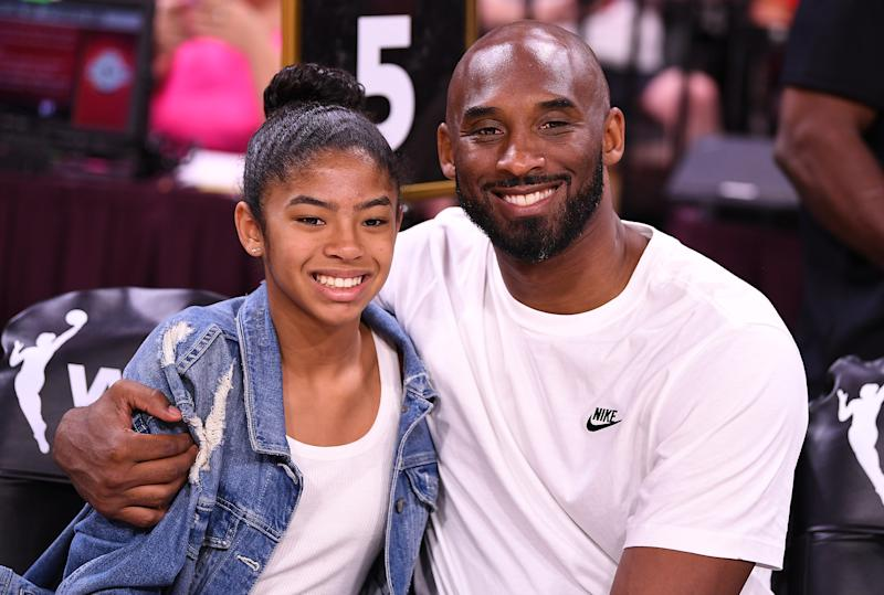 Kobe Bryant is handing off his basketball skills to daughter Gianna. (Stephen R. Sylvanie-USA TODAY Sports)