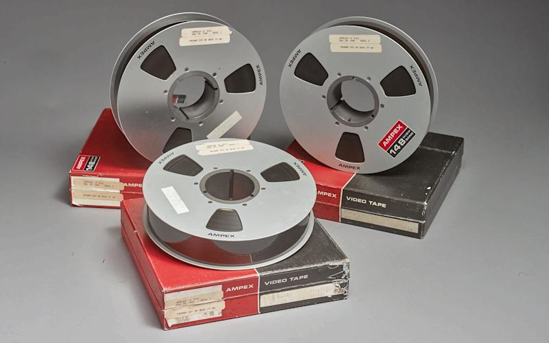 The three moon landing tapes sold for $1.82 million - REUTERS