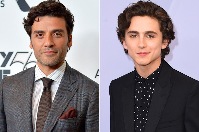 Oscar Isaac in talks to play Timothée Chalamet's father in Dune reboot