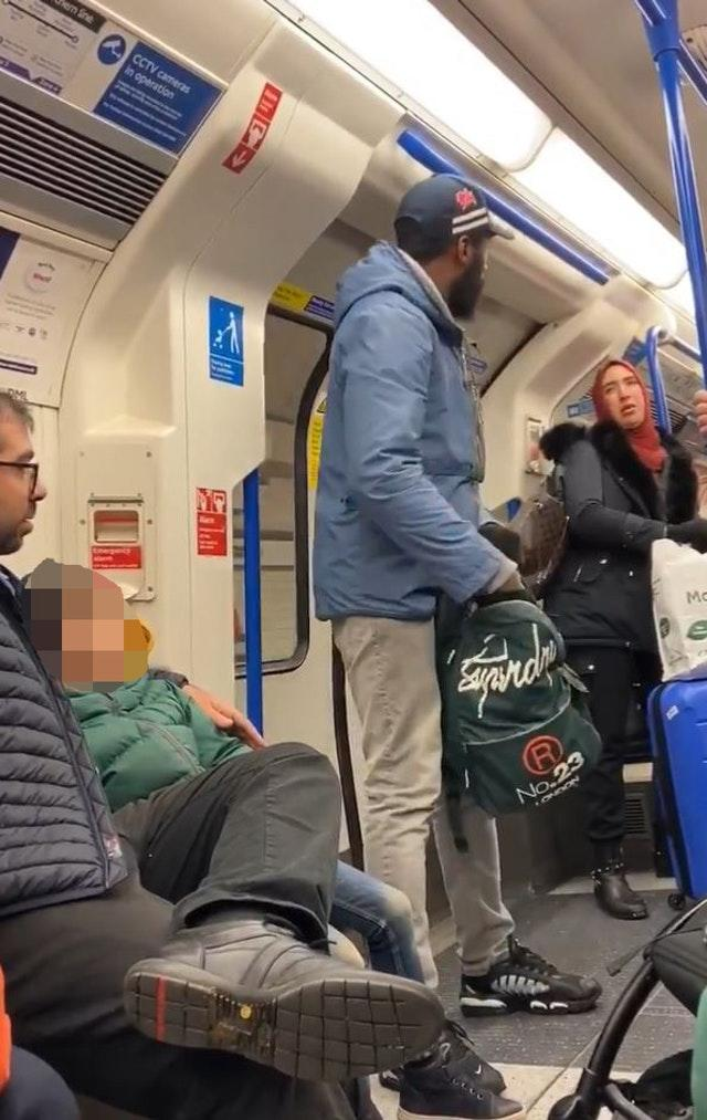 Antisemitism on tube