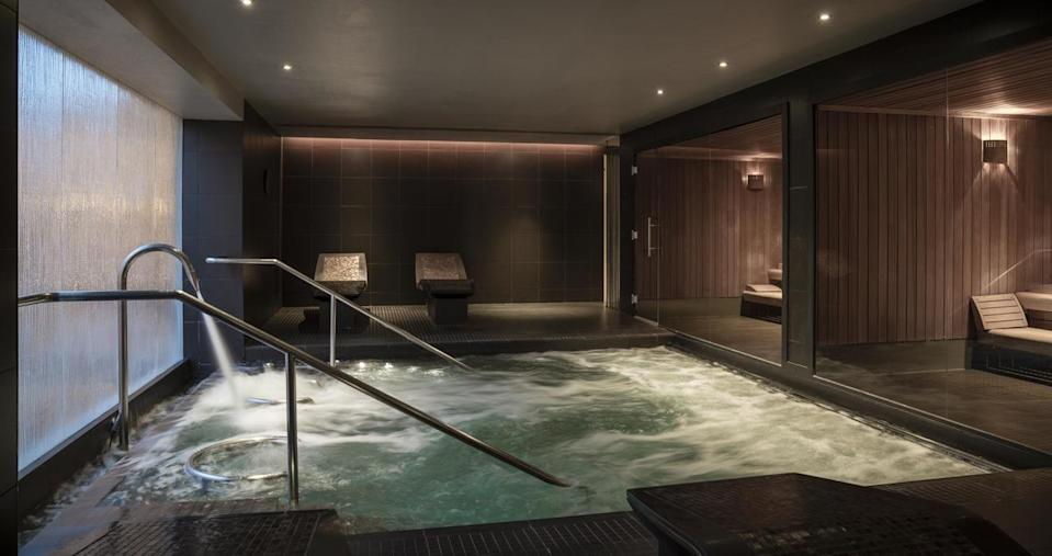 "<p>This prestigious resort in the heart of Scotland lies in 850 acres of glorious countryside and is perfectly positioned for a a restorative luxury spa staycation. The state-of-the-art spa has a fitness centre, two swimming pools, sauna, steam room and outdoor hot tub. </p><p>Dating back to 1924, the hotel also boasts onsite horse riding, a falconry school, and four restaurants, from the buzzing Dormy Bar & Grill to the Michelin-starred Andrew Fairlie eaterie.</p><p><a class=""link rapid-noclick-resp"" href=""https://go.redirectingat.com?id=127X1599956&url=https%3A%2F%2Fwww.booking.com%2Fhotel%2Fgb%2Fthe-gleneagles.en-gb.html%3Faid%3D2070935%26label%3Dscotland-staycations&sref=https%3A%2F%2Fwww.countryliving.com%2Fuk%2Ftravel-ideas%2Fstaycation-uk%2Fg34614070%2Fscotland-staycation%2F"" rel=""nofollow noopener"" target=""_blank"" data-ylk=""slk:CHECK AVAILABILITY"">CHECK AVAILABILITY</a></p>"