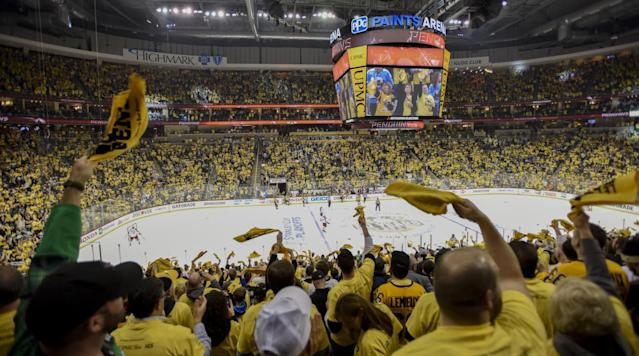 "<p>NHL playoff fever is not the sort of thing you need to seek medical attention for, but a head wound usually is. One Pittsburgh man, however, refused medical attention for his bleeding head on Wednesday night because the Penguins were playing, <a href=""https://www.theguardian.com/sport/2017/apr/13/pittsburgh-penguins-fan-stabbed-in-head-refuses-treatment-until-end-of-game"" rel=""nofollow noopener"" target=""_blank"" data-ylk=""slk:according to the Guardian"" class=""link rapid-noclick-resp"">according to the <i>Guardian</i></a>. </p><p>Police were called to an autobody shop about four miles from the Pens' arena last night just after 9 p.m., or toward the end of the second period of Pittsburgh's game against the Blue Jackets. There they found a 43-year-old man, believed to be the owner of the shop, bleeding from the head. He'd been stabbed in the head with a screwdriver following an argument with an unnamed 25-year-old. </p><p>• <a href=""https://www.si.com/nhl/2017/nhl-goal-horns-songs-ranked"" rel=""nofollow noopener"" target=""_blank"" data-ylk=""slk:All 30 NHL goal horns, ranked"" class=""link rapid-noclick-resp""><strong>All 30 NHL goal horns, ranked</strong></a></p><p>Paramedics attempted to treat the victims for his injuries but he told them to forget it—he'd just drive himself to the hospital after the game was over. </p><p>Assuming the blood didn't run into his eyes, he was able to see the Pens hang on for a 3–1 win. He's the living embodiment of <a href=""http://deadspin.com/hockey-fans-using-rich-peverley-to-shit-on-lebron-james-1542223654"" rel=""nofollow noopener"" target=""_blank"" data-ylk=""slk:a hockey meme"" class=""link rapid-noclick-resp"">a hockey meme</a>. </p>"