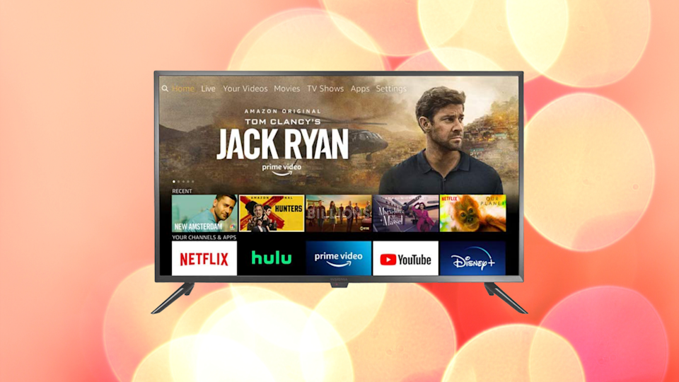 """""""Prime Day's two whole weeks from now???"""" We feel your pain. How 'bout a $100 smart HDTV to tide you over? (Photo: Amazon)"""
