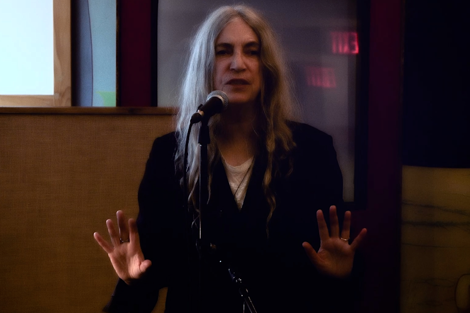 Patti Smith during her performance (Circa/PA)