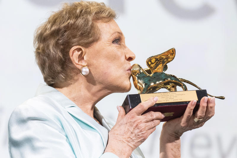 Italy Venice Film Festival 2019 Lifetime Achievement Julie Andrews