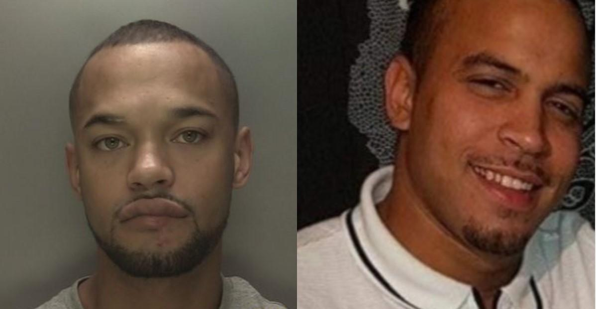 Roy Garmson (L) stabbed younger brother Joseph. (Police)