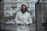 <p>To get Beth's chic white beret hat from the end of <strong>The Queen's Gambit</strong> there are styles on Amazon, like the <span>Hat To Socks Wool Blend French Beret</span> ($9), and Target, like the <span>Women's Felt Beret Hat</span> ($15).</p>
