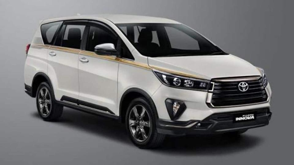 Toyota Kijang Innova Limited Edition launched in Indonesia: Details here