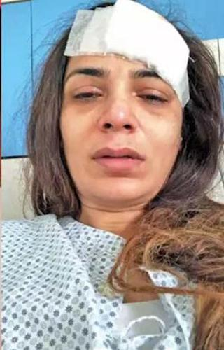 Neeru Randhavas Picture While She Was Admitted To The Hospital
