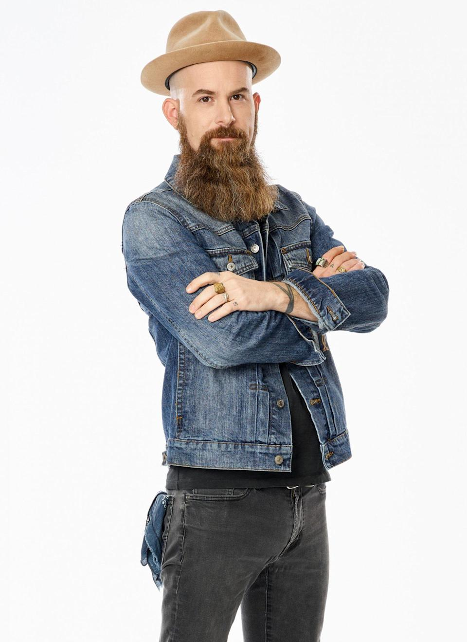 """<p><strong>Age:</strong> 39</p> <p><strong>Hometown:</strong> Waco, Texas</p> <p><strong>Resident:</strong> Waco, Texas</p> <p>Growing up, Konzelman's parents ran a Christian music studio, so it was only a matter of time before he started singing himself. He then followed his passion for music to college, where he studied audio engineering and met his wife Amanda. The couple now have two kids and have moved 11 times over the past 17 years, always immersing themselves in the local music scene wherever they go. Due to his nomadic lifestyle, Konzelman has worked various jobs from teaching martial arts to creating essential oils for men's beards and considers himself a jack-of-all-trades. Konzelman is ready for his next adventure on <a href=""""http://people.com/tag/the-voice"""" rel=""""nofollow noopener"""" target=""""_blank"""" data-ylk=""""slk:The Voice"""" class=""""link rapid-noclick-resp""""><em>The Voice</em></a> and hopes to finally make music his full-time career. </p> <p>""""I am so honored that Blake turned his chair for me,"""" Konzelman says. """"I deeply respect his songwriting and long history in the music industry. I feel like he gets me and my artistry and is the perfect coach to push me even further toward my dreams!""""</p>"""