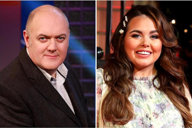 Dara Ó Briain deletes tweet criticising Scarlett Moffatt's podcast and urges fans not to 'give her any grief'