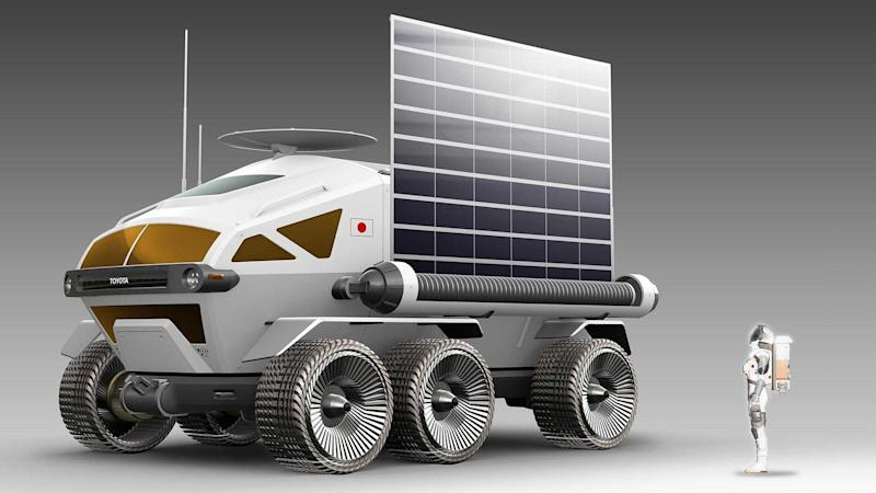 Toyota Pressurized Moon Rover Concept