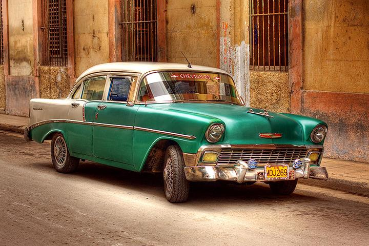 Image result for old american cars in cuba