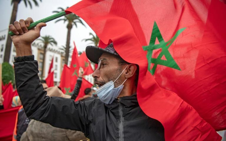 Moroccans celebrated on December 13 after the US adopted a new official map of Morocco that includes the disputed territory of Western Sahara