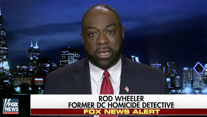 Rod Wheeler on Fox News. (Screengrab: Fox News)