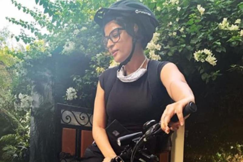 Tahira Kashyap Expresses Her Love For Cycling, Says it is Therapy For Mental Well-being