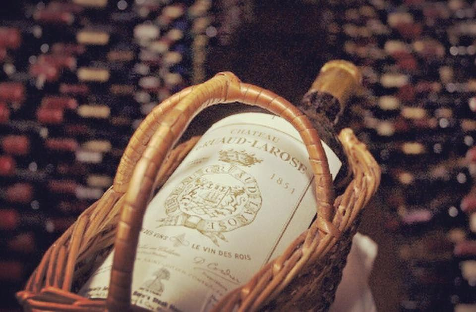 "<p>With over 100,000 bottles in the cellar at <a href=""https://www.tripadvisor.com/Restaurant_Review-g34678-d944244-Reviews-Bern_s_Steak_House-Tampa_Florida.html"" rel=""nofollow noopener"" target=""_blank"" data-ylk=""slk:Bern's Steak House"" class=""link rapid-noclick-resp"">Bern's Steak House</a>, it can be pretty tricky to make a selection, but this 1845 Gruaud-Larose is always a safe bet. To guarantee you're getting your money's worth, the wine that predates the Civil War comes with a certificate of authenticity certifying the bottle came from estate inventory and was checked and re-packaged at the estate in 1996. If spending a year's tuition on a bottle isn't quite your style, the menu also offers her younger sister from 1855 for $42,000.</p>"