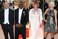 <p><strong>The theme: </strong>Manus x Machina: Fashion in an Age of Technology </p> <p><strong>The co-chairs: </strong>Jonathan Ive, Idris Elba, Anna Wintour and Taylor Swift </p> <p><strong>Honorary chairs:</strong> Nicolas Ghesquière, Karl Lagerfeld and Miuccia Prada</p>