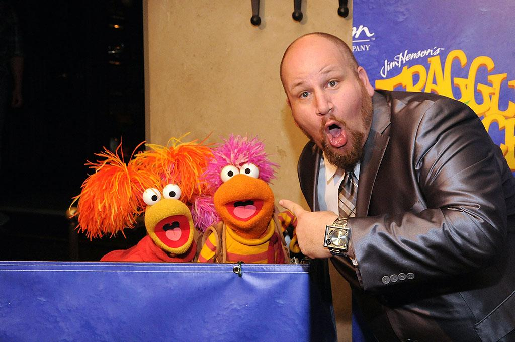 "Steven Gickman attends the ""Fraggle Rock"" 30th anniversary party at The Spare Room on April 24, 2013 in Hollywood, California."