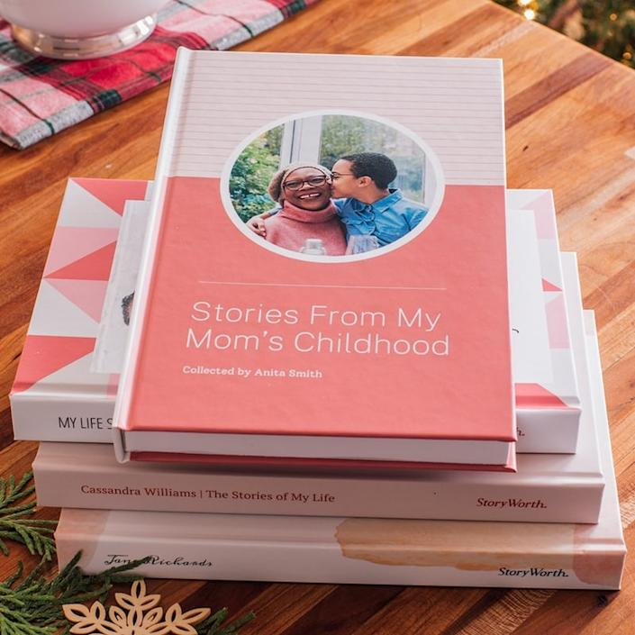 StoryWorth helps collect and preserve family memories through their weekly e-mail service. Storyworth, from $113 ($89 USD).