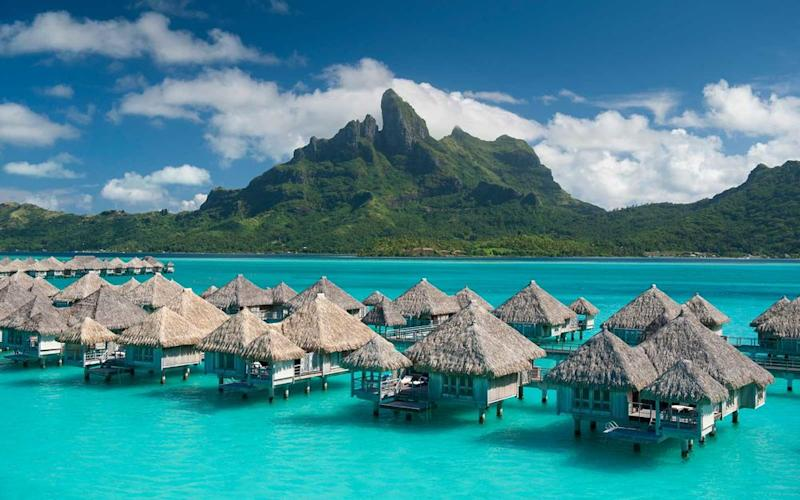 Courtesy of St Regis Bora Bora