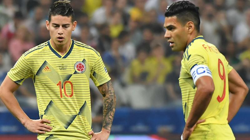 Injured James and Falcao out of Colombia squad for September friendlies