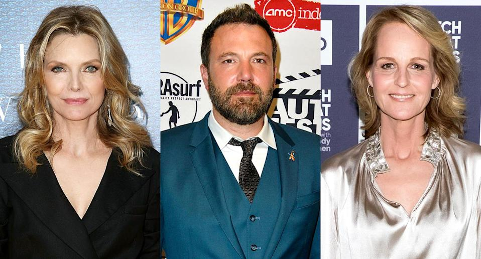 Michelle Pfeiffer, Ben Affleck, and Helen Hunt all taught us very special lessons. (Photo: Getty Images)