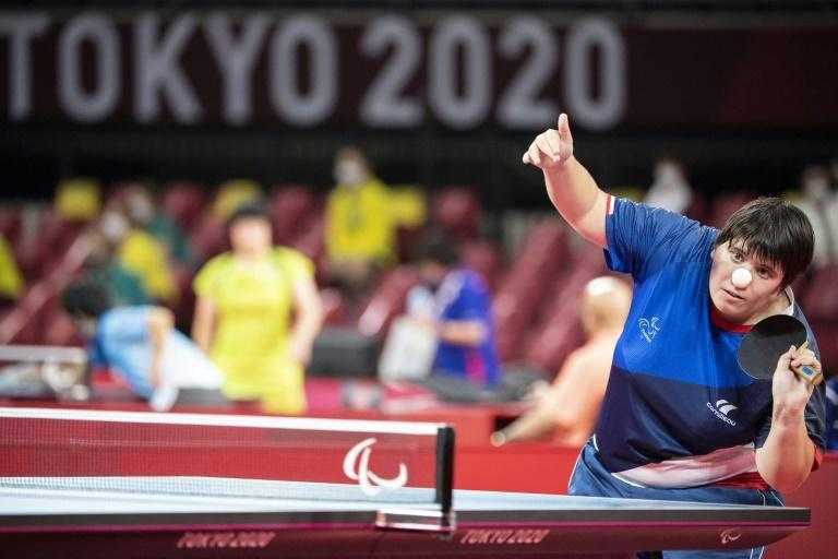 Paralympic table tennis is one of just three sports with a classification for athletes with an intellectual disability (AFP/Charly TRIBALLEAU)