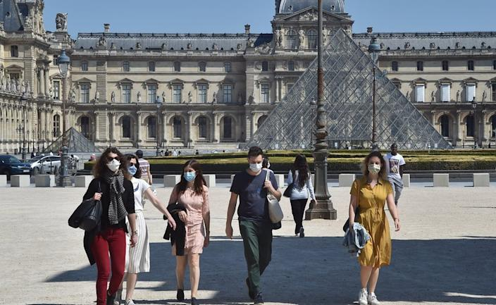 The Louvre opens next month