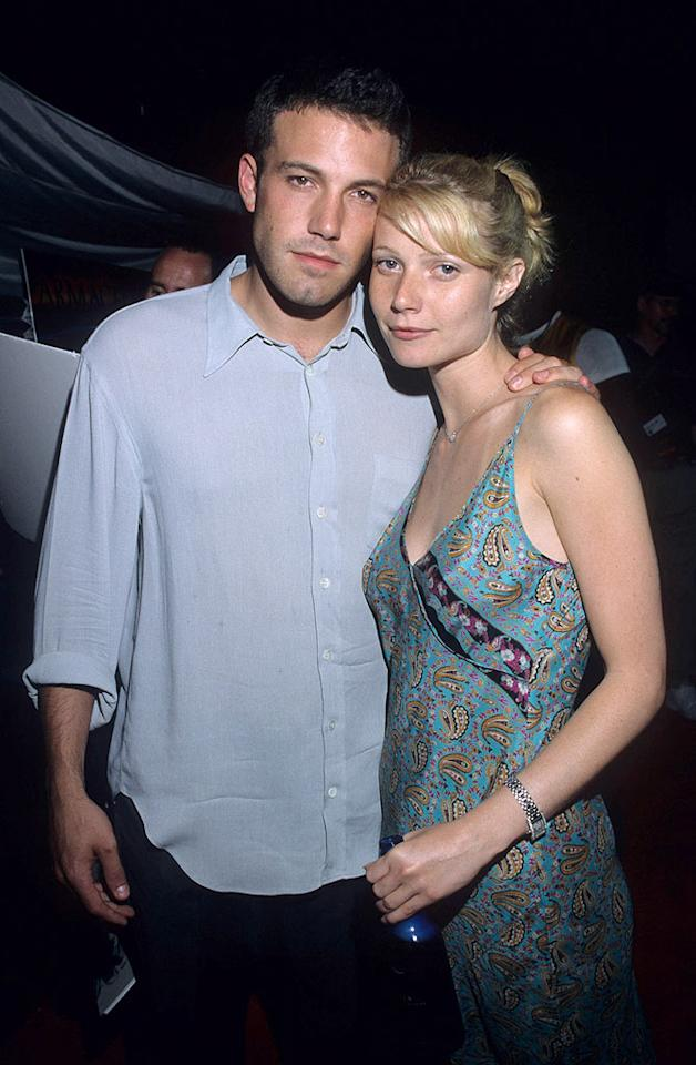 "Before Jen, there was Gwen. Ben Affleck and Gwyneth Paltrow dated in 1998, when they were both rising stars. Jeff Vespa/<a href=""http://www.wireimage.com"" target=""new"">WireImage.com</a> - January 10, 2004"
