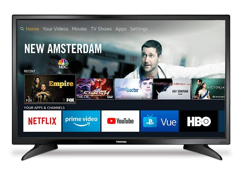 This TV has a 4.2 out of 5 star review rating with over 7,100 reviews. (Photo: Amazon)