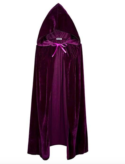 <p>To help a Sarah Sanderson costume go over the top you're going to want to add this purple <span>VGLOOK Kids Hooded Cloak Cape</span> ($13-$17) to the look.</p>