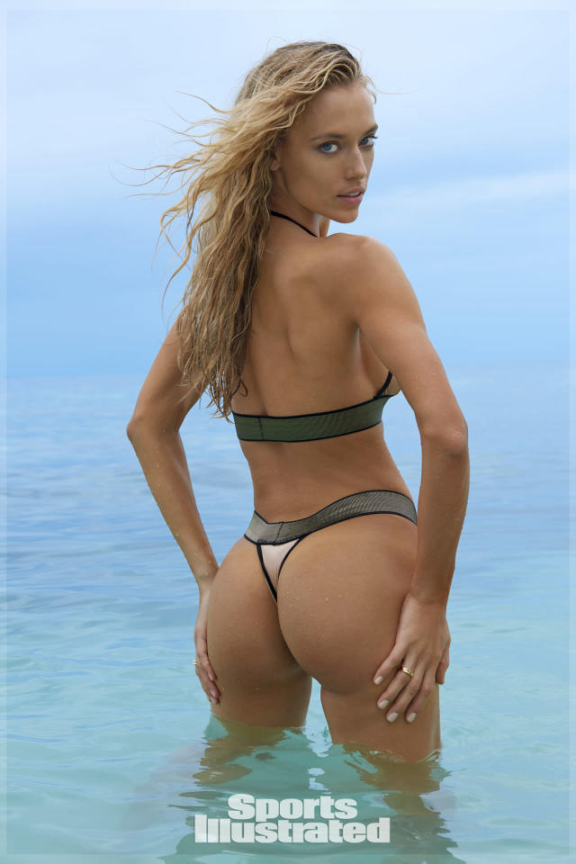 "<p>Hannah Ferguson was photographed by Yu Tsai in Fiji. Swimsuit by <a href=""http://www.mydolcessa.com"" rel=""nofollow noopener"" target=""_blank"" data-ylk=""slk:Dolcessa"" class=""link rapid-noclick-resp"">Dolcessa</a>.</p>"