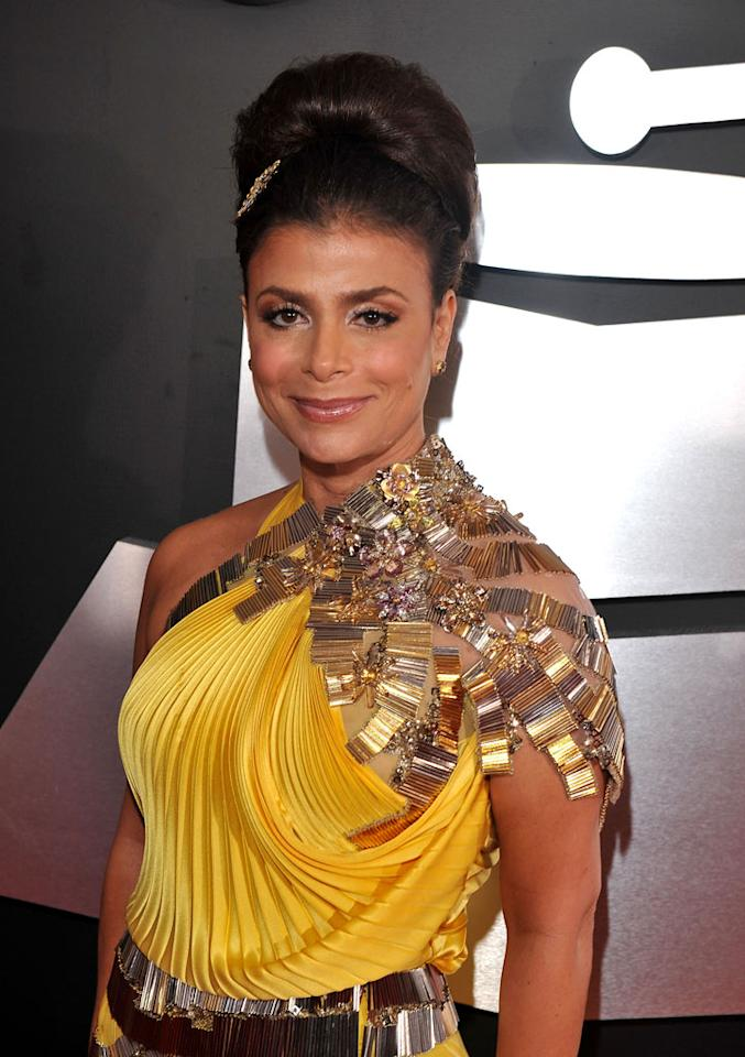 """<a href=""""/paula-abdul/contributor/106554"""">Paula Abdul</a> arrives at the 51st Annual Grammy Awards at the Staples Center on February 8, 2009, in Los Angeles."""