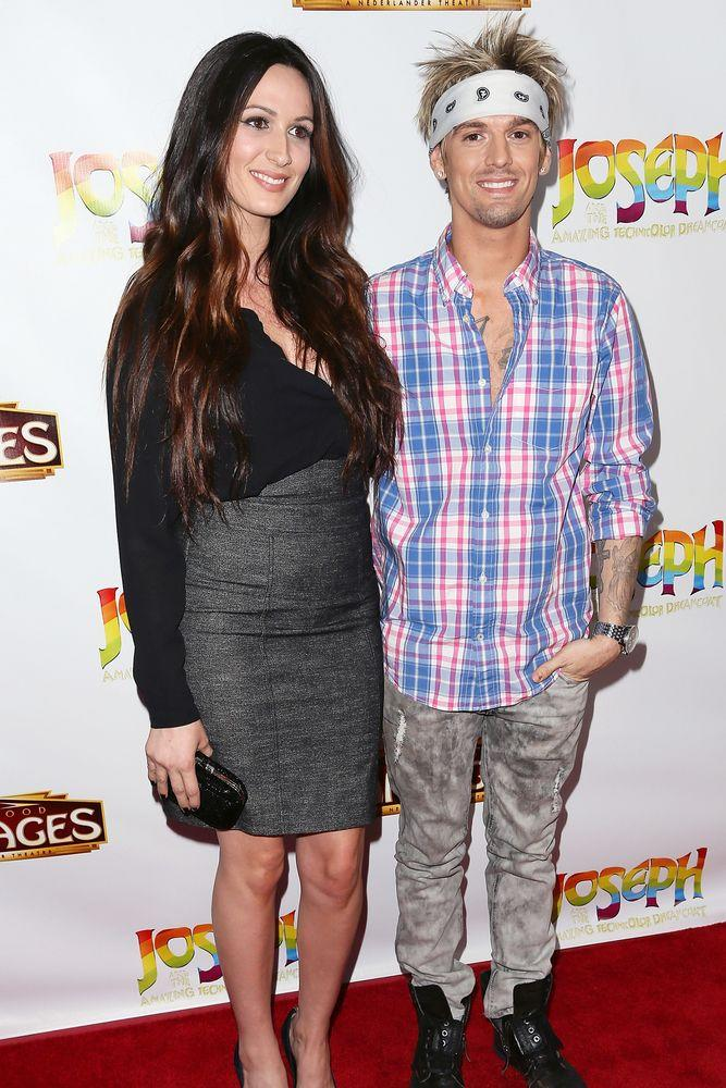Angel Carter and Aaron Carter | David Livingston/Getty