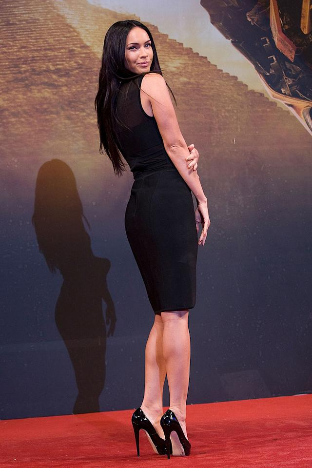 "<a href=""http://movies.yahoo.com/movie/contributor/1808488000"">Megan Fox</a> at the Korean premiere of <a href=""http://movies.yahoo.com/movie/1809943432/info"">Transformers: Revenge of the Fallen</a> - 06/09/2009"